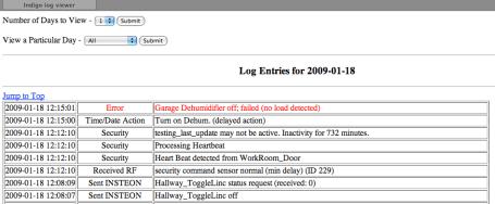 Remote Log Viewer for Indigo – The Matrix Data Bank
