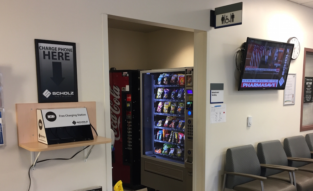 The Scholz Network Donates Charging Station to Georgetown ER