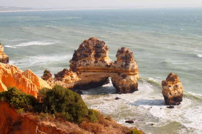 Felsformation am Praia da Rocha, Algarve - Portugal