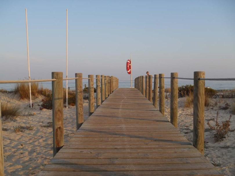 Steg am Praia do Baril - Algarve