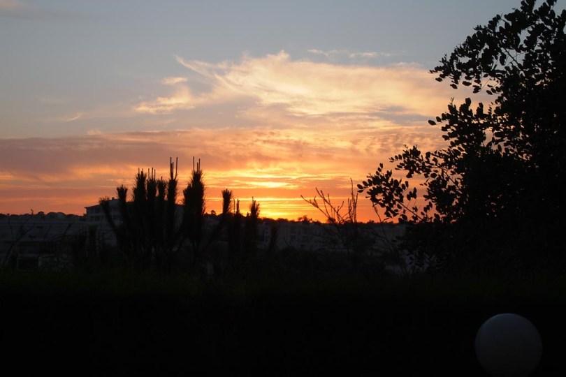 Sonnenuntergang in Porto de Mos - Portugal