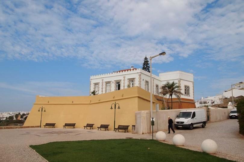 Festung in Luz an der Algarve, Portugal