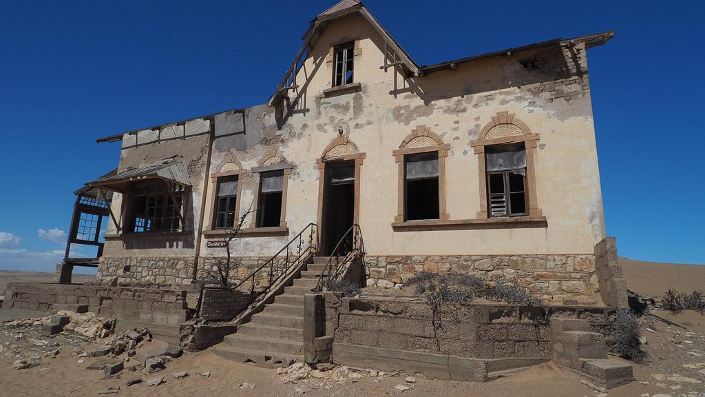 Ruine in Kolmannkuppe Namibia
