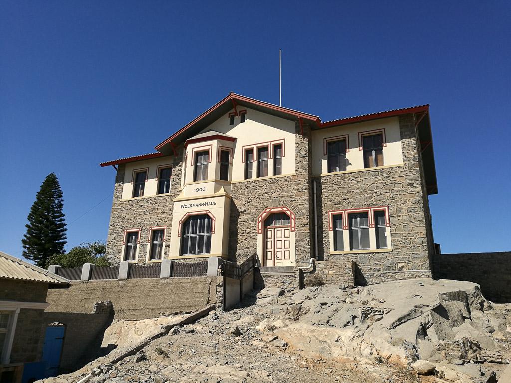 Woermann Haus in Lüderitz von 1906