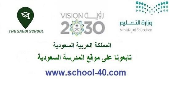 بيان بأسماء معلمات المواد والمراجعات الثاني المتوسط الفصل الاول 1439 هـ / 2018 م – المدرسة السعودية