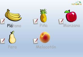 Las frutas - Great song learn the fruits in Spanish