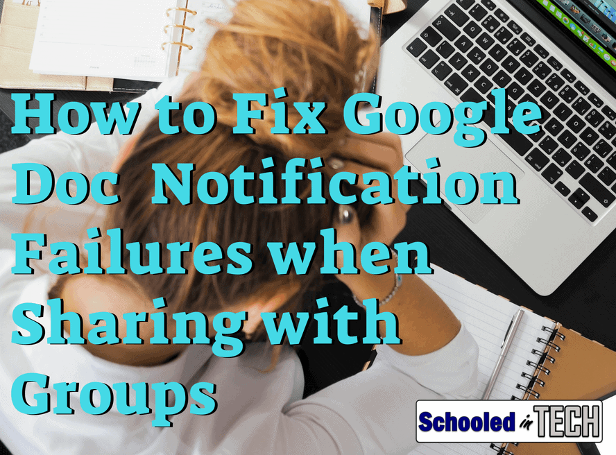 Google Docs Sharing: Group Emails Fail To Send