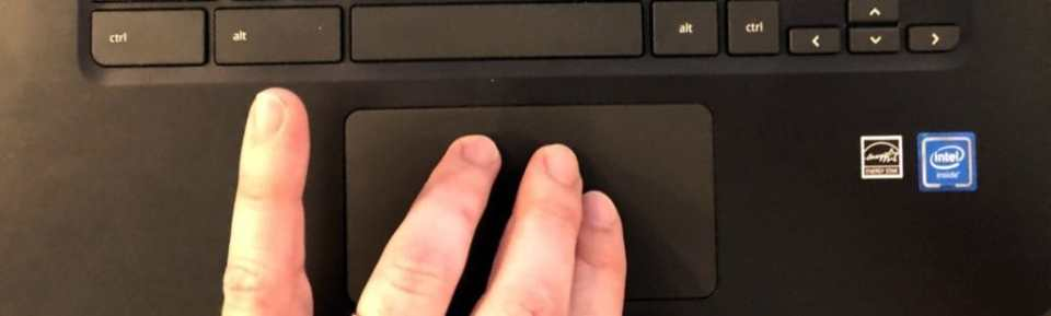 Chromebook Touchpad Gestures