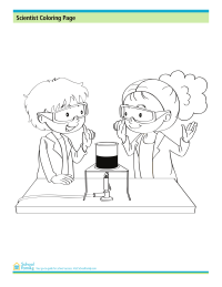 science coloring pages schoolfamily