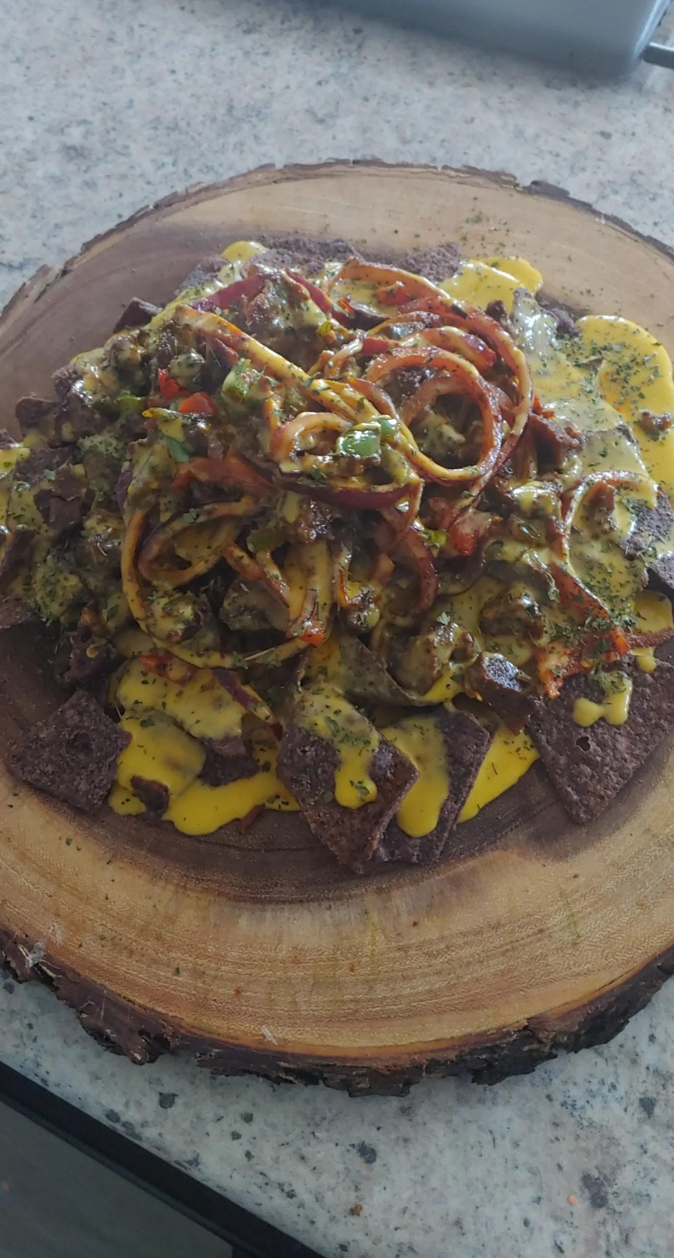 O yeah It's Vegan Food Truck taco plate