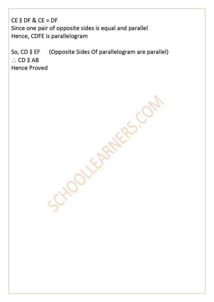 Class 9 Chapter 9 Theorem 9.3