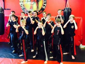 Kickboxing Blackbelt Gradings