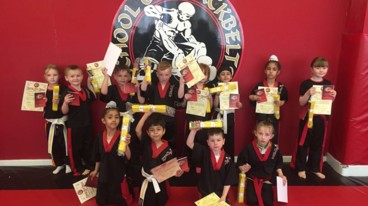 Martial Arts Graduation Results for SOBB