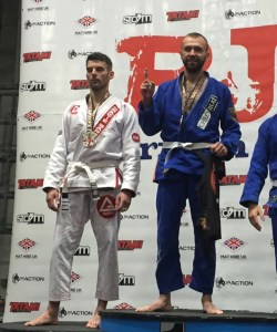 2nd Place at the British BJJ open Championships