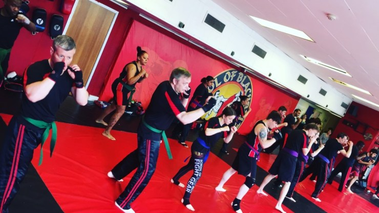 Oldbury Kickboxing Grading and it's key elements to success!