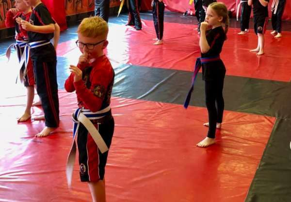 Character Building within Kids Martial Arts.