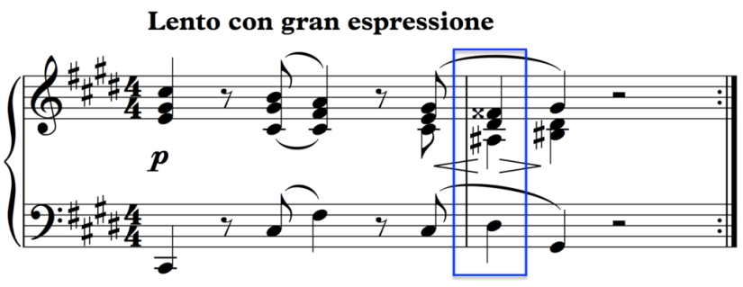 An alternative chord in Chopin's Nocturne reduces the tension and therefore its musical and emotional impact.