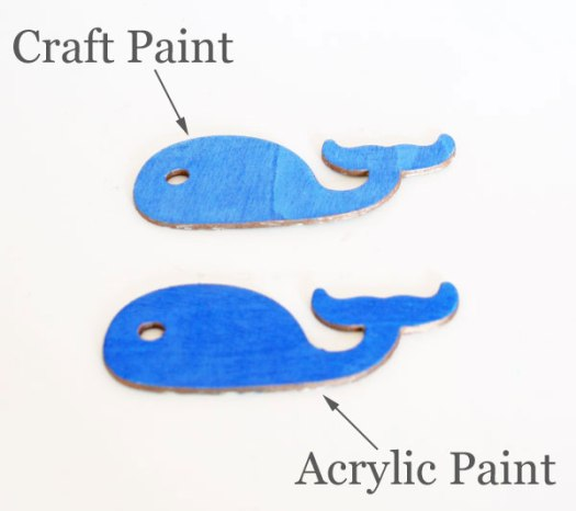 Comparing Craft And Acrylic Paint Rappsodyinrooms Com For Tealandlime