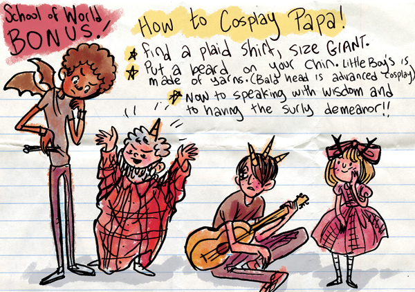 How to Cosplay Papa!