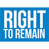 Right to Remain logo