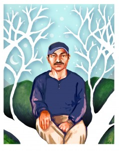 Galeano, the murdered Zapatita teacher, who died defending a Zapatista school in Chiapas, Mexico.