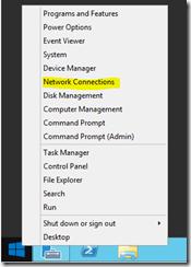 Start Menu - Right Click Context Menu