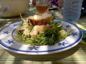 salade au chevre