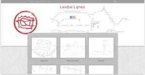 Het project LeidseLijnen heeft haar eigen website gekregen.