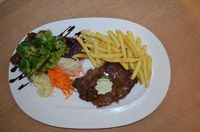 Berggasthof steak