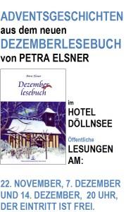 Plakat zu den Lesungen