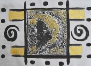 Detail 2- Traumfänger von Petra Elsner