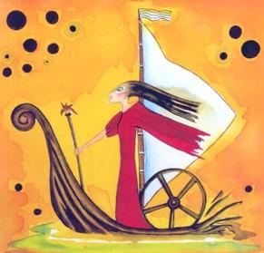 Cartoon aus der Träume-Serie von Petra Elsner