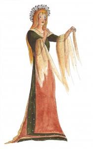 Adela, Muhme der Wiesen und Felder, Zeichnung: Petra Elsner