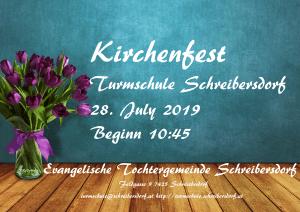 Schreibersdorfer Kirchenfrühschoppen @ Turmschule