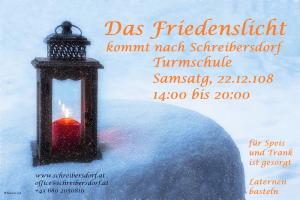 Friedenslicht in Schreibersdorf @ Turmschule | Schreibersdorf | Burgenland | Österreich
