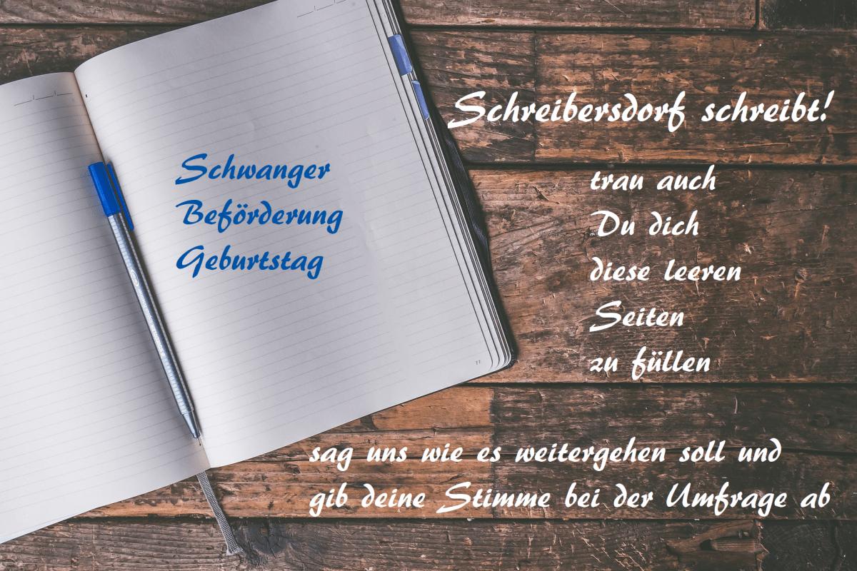 Schreibersdorf schreibt! Umfrage
