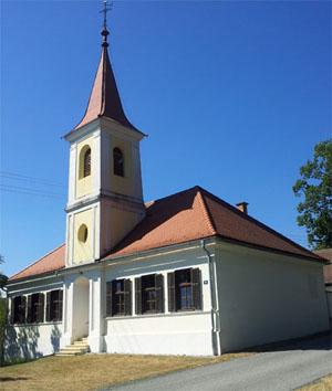 Tevang. Tochtergemeinde Schreibersdorf Kirche
