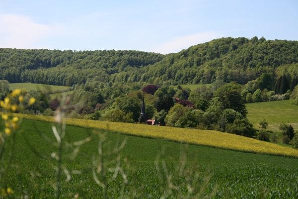 Landschaft in Nordhessen