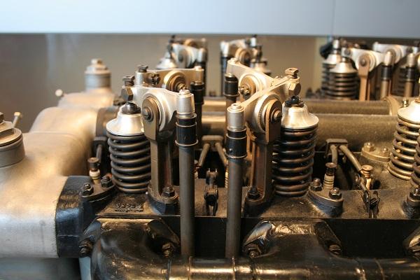 Foto Motor im Zeppelinmuseum in Friedrichshafen