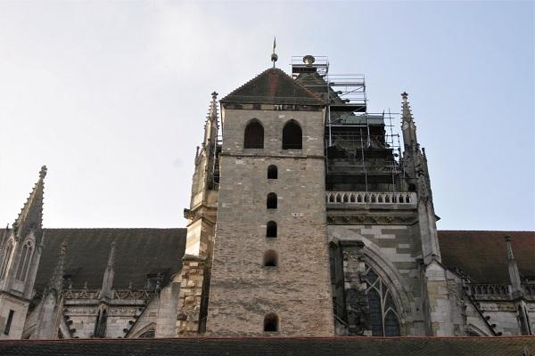 Eselsturm am Dom in Regensburg