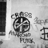 Anarcho-punk graffiti