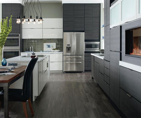 Laminate Cabinets in a Contemporary Kitchen   Schrock Laminate cabinets in a contemporary kitchen