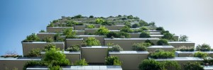 Plants in buildings to demonstrate sustainability