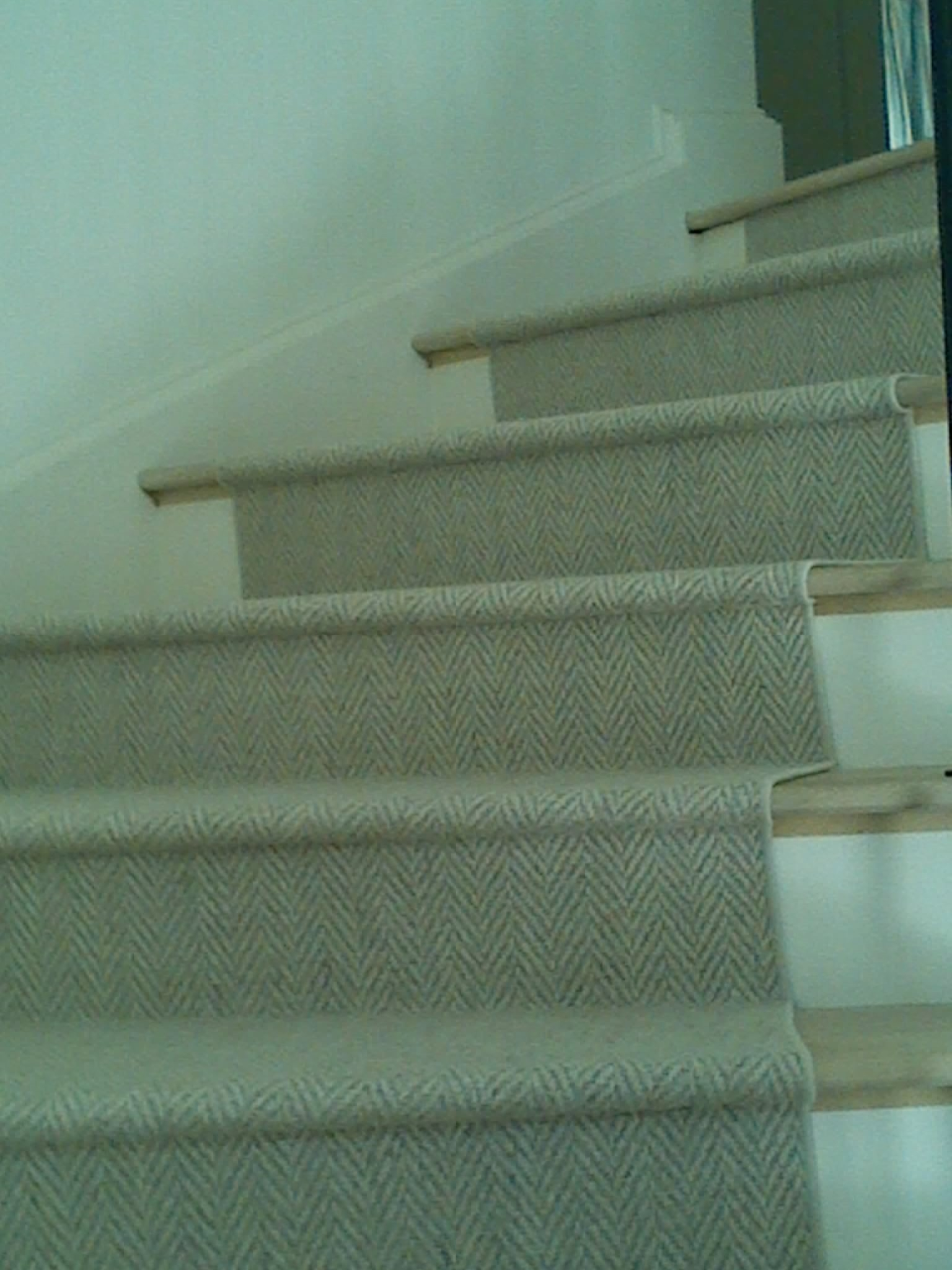 Wool Archives Schroeder Carpet | Herringbone Carpet For Stairs | High Traffic | Textured | Classical Design | Striped | Carpet Stair Treads
