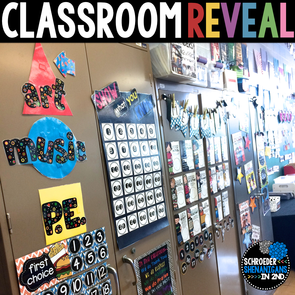 Classroom Reveal 2015 Schroeder Shenanigans In 2nd Computer Geek Circuit Board Neon Yellow Notebook Zazzle The Brights Poster On Cabinet There Is From My Inspirational Posters Pack Store