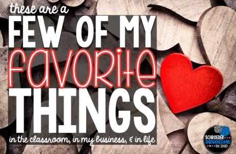 Things I LOVE {my fab 5}