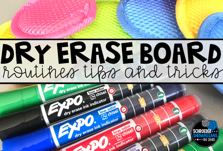 6 tips for Using Dry Erase Boards in your classroom
