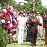 SCHS Memorial Day ceremony, photos courtesy of Bill Brinkhorst.