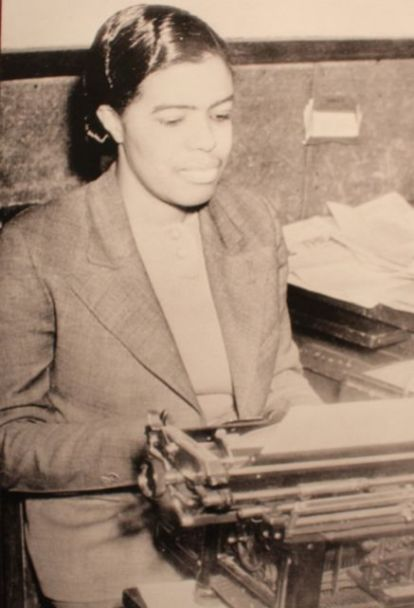 Lucile Harris Bluford Photo from Missouri History Museum exhibit, #1 in Civil Rights