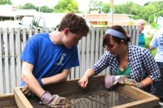 The archaeological dig at Sappington House - For students